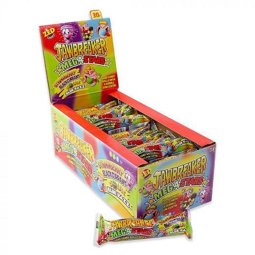 Zed Candy Mega Stars Jawbreakers 33g
