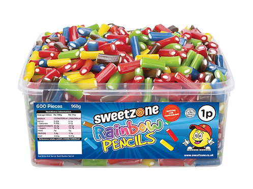 Sweetzone Rainbow Pencils