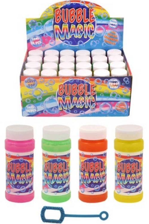 BUBBLE TUBS BUBBLE MAGIC WITH WAND 60ML