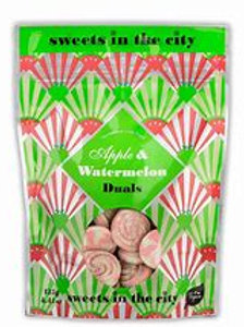 Sweets In The City Apple & Watermelon Fizzy Duals Pouch 50g