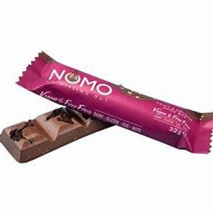 Nomo Fruit & Crunch Chocolate Bar 32g