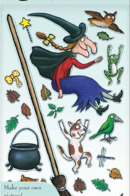 Room on the broom dress up stickers