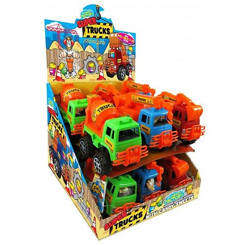 Crazy Candy Factory Super Trucks