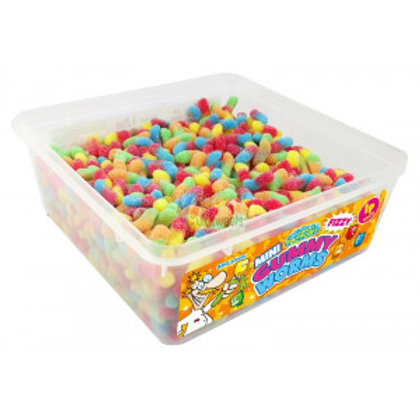 Crazy Candy Factory Mini Fizzy Gummy Worms