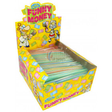 Crazy Candy Factory Edible Paper Funny Money
