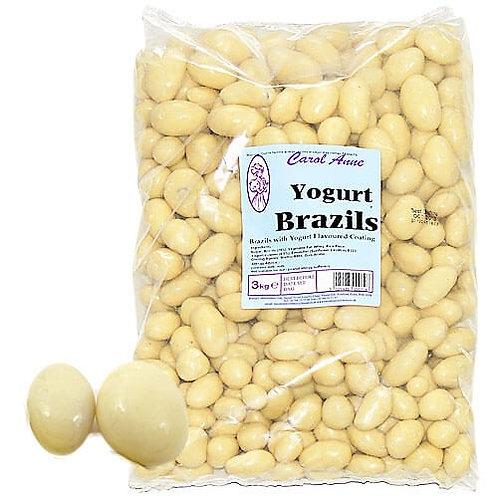 Carol Anne Yogurt Covered Brazils