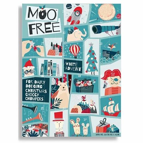 Moo Free White Chocolate Advent Calendar - 70g