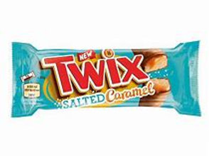 Twix Salted Caramel Biscuit Twin Bars 46g NEW