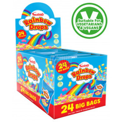 Swizzels Rainbow Drops Mega Bags 32g