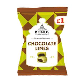 Bonds Chocolate Limes Bags 150g