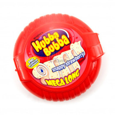 Wrigley's Hubba Bubba Strawberry Mega Long Tape