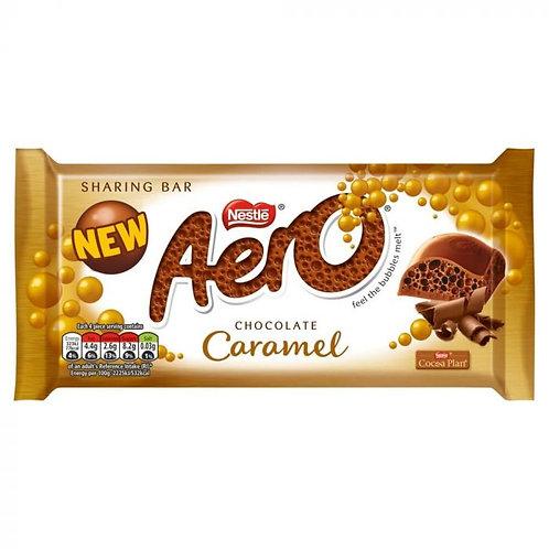 Aero Caramel Chocolate Sharing Bar 100g