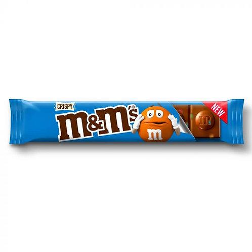 M&M's Crispy Chocolate Bar 31g