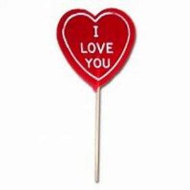 I Love You Lollipops 100g