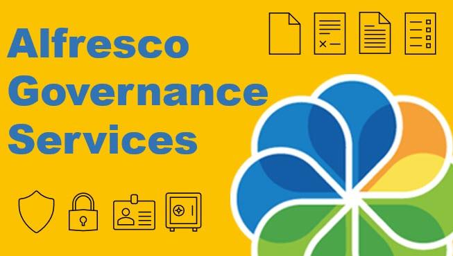 Alfresco Governance Services AGS Content Retention Compliance