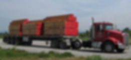 buse timber delivery truck