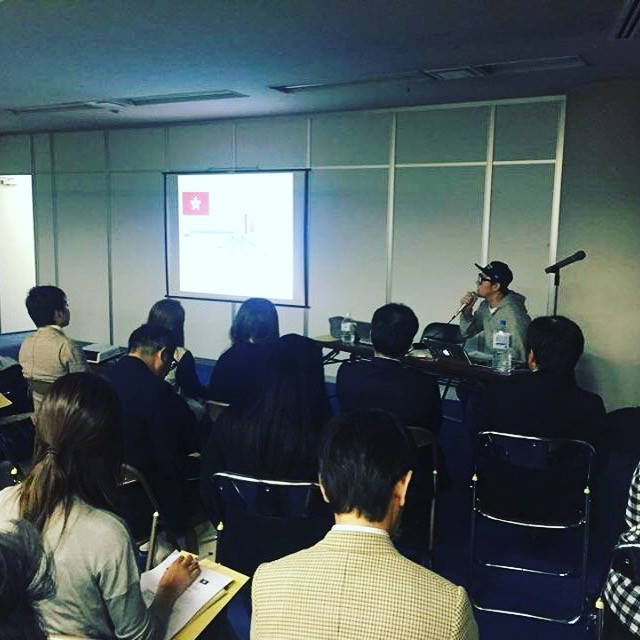 Seminer in Tokyo,how is Hong Kong fashion market going? by Senken newspaper.