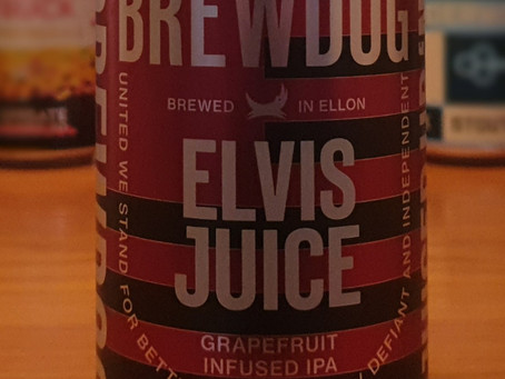 Blog #27. BrewDog Elvis Juice - Facebook poll LIVE tasting.