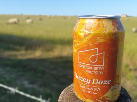 Blog #75. London Brewing Co. - Hazey Daze.