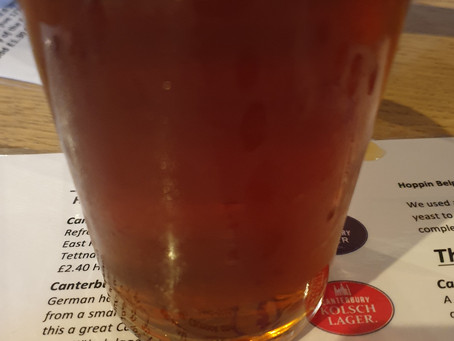 Blog #90. Foundry Brew Pub - Red Rye. (Tasting session 3/5).