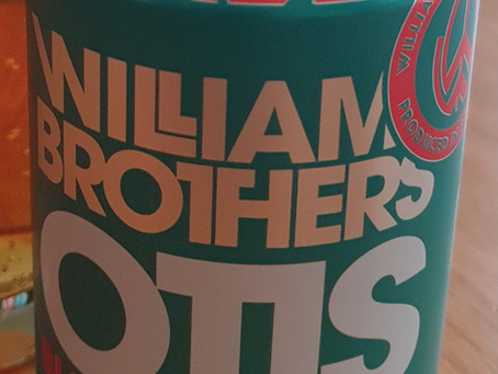 Blog #93. Williams Bros. Brewery - Otis Blood Orange IPA. Lidls Vs. Aldi: Orange IPA Round 1.