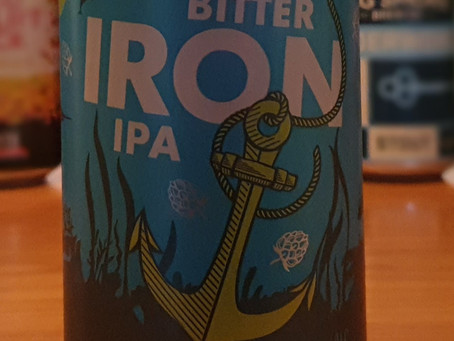 Blog #30. Hatherwood Craft Beer Bitter Iron IPA - another Lidl's special.