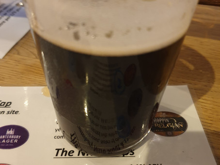 Blog #91. Foundry Brew Pub - Canterbury Nitro Stout. (Tasting session 4/5).