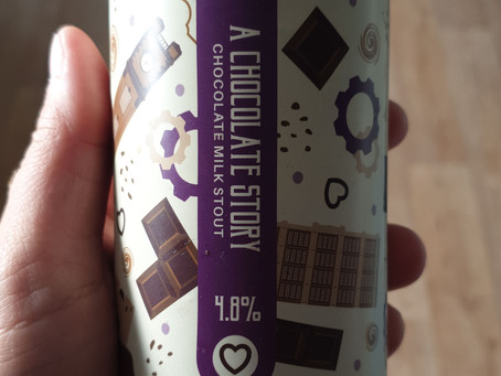 Blog #98. Brew York - A Chocolate Story. A real page-turner.