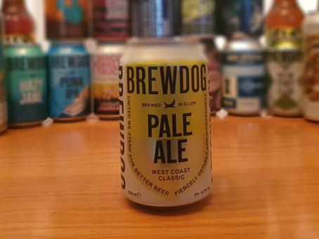 Blog #4. BrewDog Pale Ale. So Fresh and So Clean.