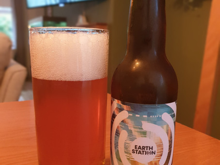 Blog #81. Earth Station - Toasted Wheat Table Beer. Perfect beer for a...table?