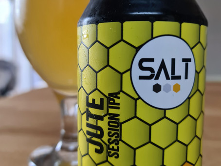 Blog #84. Salt - Jute. Session IPA.