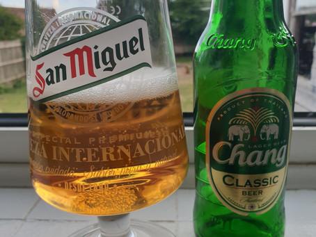 Blog #56. Chang Classic Lager Beer. Bangkok has me now.