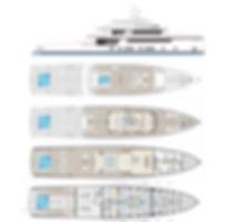 2020 Rosetti 50m Supply Vessel Drawlings