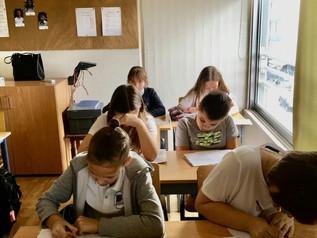 14 ноября ученики школы Morfosis приняли участие в олимпиаде Русский медвежонок.