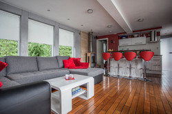 Lounge Tresen Kamin