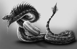 Snake Demon Commission