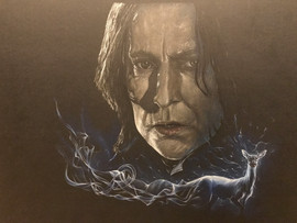 Drawn with prismacolor pencils on 16X20 Colored Canson Artboard