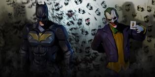 THE BATMAN AND JOKER