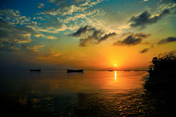 Sunset at Cabana Coral Reef