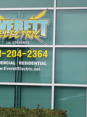 Everett Electric Sign