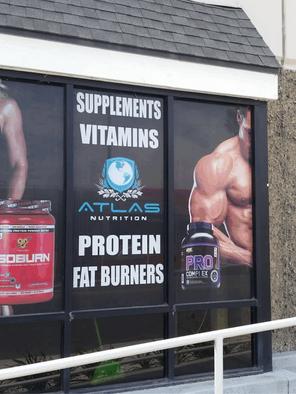 Supplement Window Signs