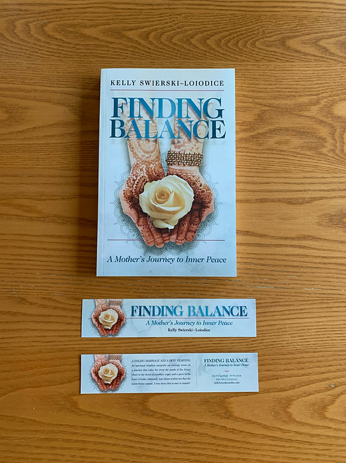 Finding Balance: A Mother's Journey to Inner Peace Book Signed by Author