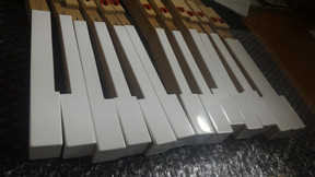 KAWAI鋼琴白鍵更換