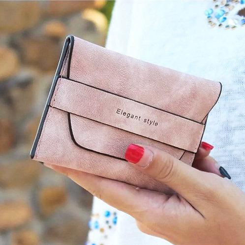Pink Elegant Wallet Pouch