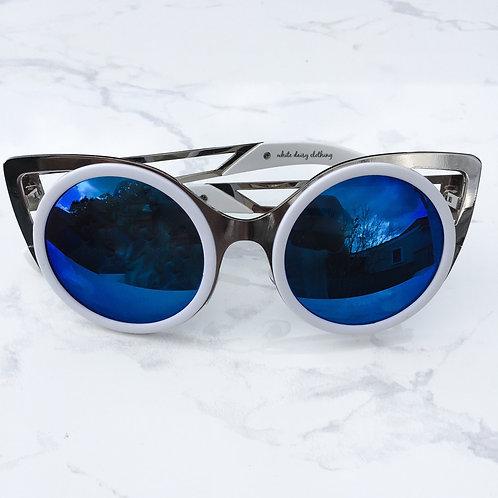 Midnight Cat Eye Sunglasses