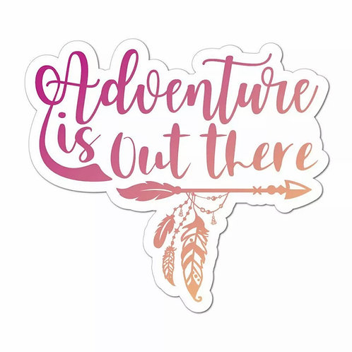 Adventures Car/Van Sticker
