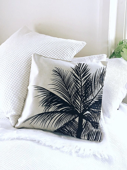 Rising Palm Tree Pillow Case