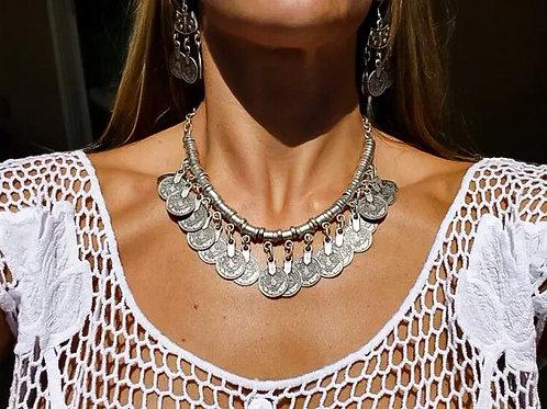 Scarlett Coin Necklace