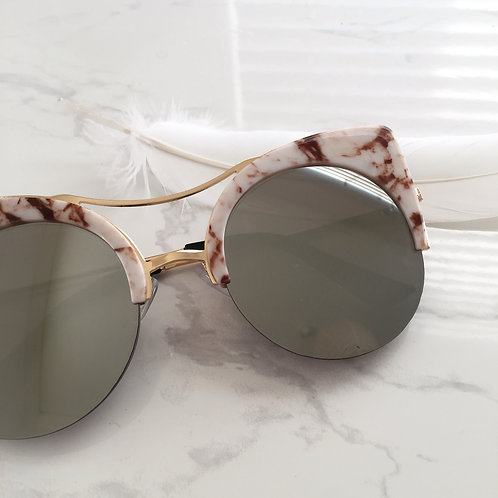 Mirror Marble Sunglasses