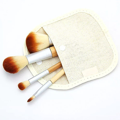 Bamboo Eco Friendly Brush Set